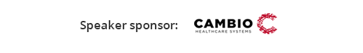 Digital Health Rewired - Clinical Software Speaker sponsor Cambio Healthcare