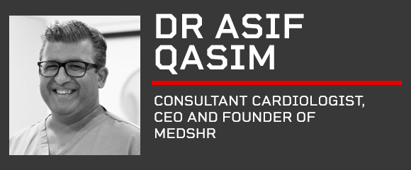 Digital Health Rewired Speaker - Dr Asif Qasim